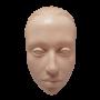 Кожа искусственная (объёмное лицо)